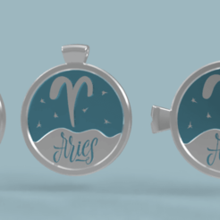 oven titul.png Download STL file 3 in 1. Coin, bangle and kylon with the Aries. • 3D printable object, Skap14