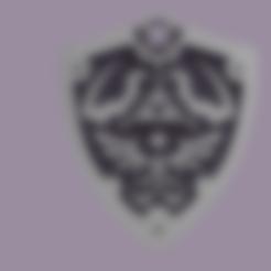 legend of zelda v2.stl Download free STL file THE LEGEND OF ZELDA VOL2 • 3D printing template, Skap14