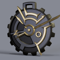 Download free STL dishonored pendant, Skap14
