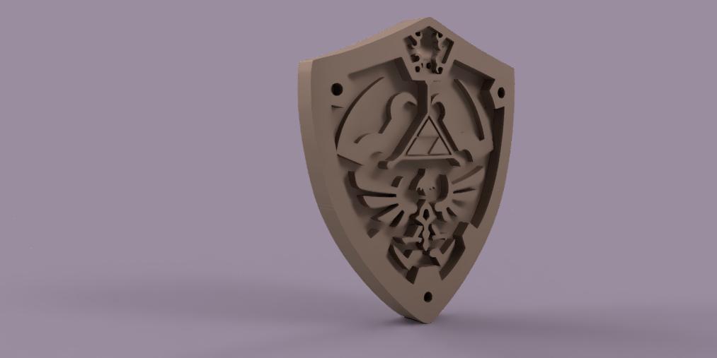 legend_of_Zelda vol2 2.PNG Download free STL file THE LEGEND OF ZELDA VOL2 • 3D printing template, Skap14