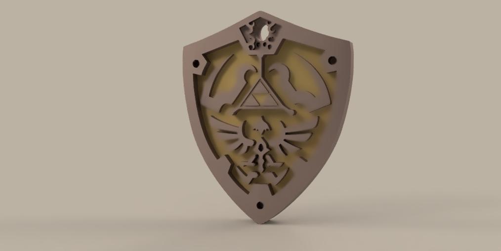 legend_of_Zelda vol2 1.png Download free STL file THE LEGEND OF ZELDA VOL2 • 3D printing template, Skap14