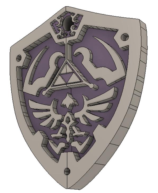 legend_of_Zelda vol2 7.png Download free STL file THE LEGEND OF ZELDA VOL2 • 3D printing template, Skap14