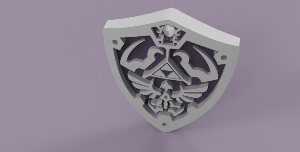 legend_of_Zelda vol2 5.PNG Download free STL file THE LEGEND OF ZELDA VOL2 • 3D printing template, Skap14