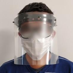 Descargar archivos 3D gratis Visera protectora / Escudo facial, madinvinh