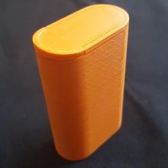 Descargar archivos 3D caja 18650 / 18650 caja, seb2320
