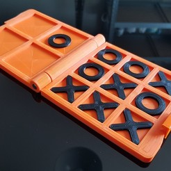 Download free 3D printer files Tic Tac Toe, seb2320