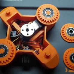 Télécharger fichier impression 3D plateau tournant, seb2320