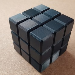 "20200219_164900.jpg Download STL file Puzzle ""Magnetic Cube"" • 3D printable template, seb2320"