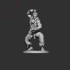 Image 37.jpg Download STL file Akuma Street Fighter • 3D printable model, burmaju