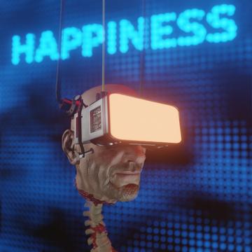 image-color.png Download free STL file Cyberpunk head • 3D printer model, paul3ddesign
