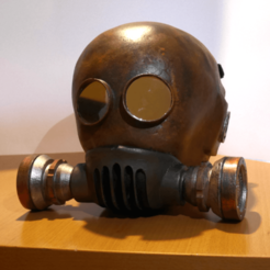 Télécharger STL Post apocalyptic helmet, paul3ddesign