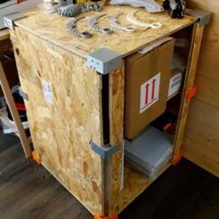 Télécharger fichier STL gratuit Furniture fixation for OBS (wood) • Plan à imprimer en 3D, paul3ddesign