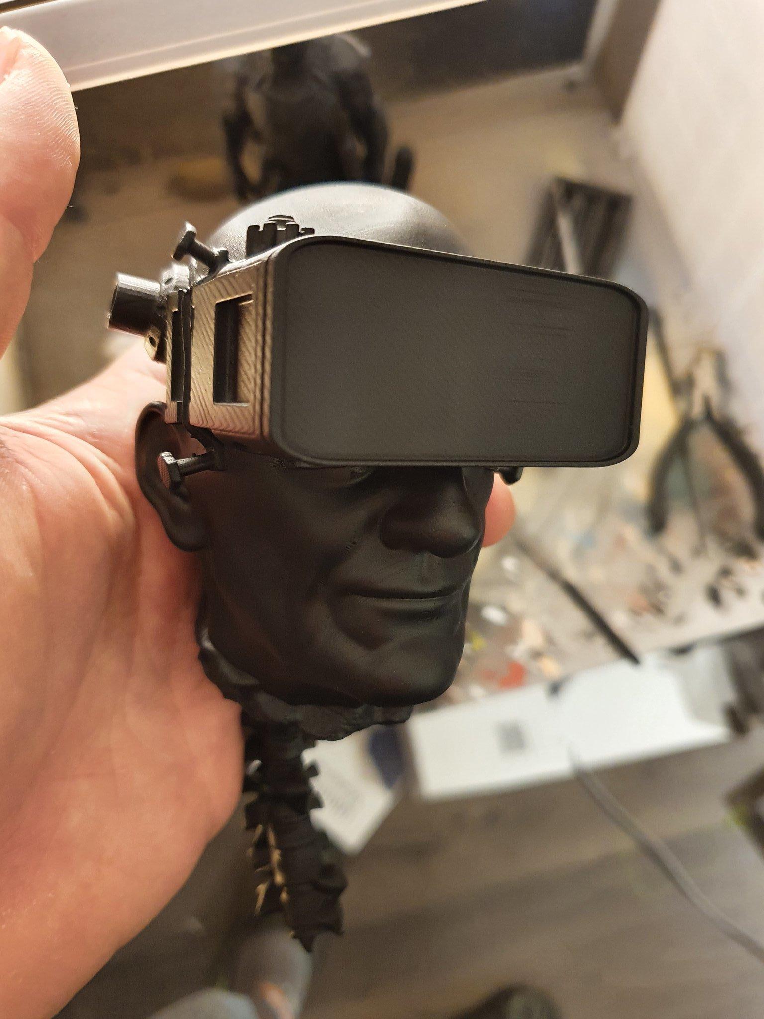 image-print.jpg Download free STL file Cyberpunk head • 3D printer model, paul3ddesign