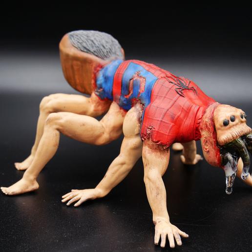P1040044-Final.png Télécharger fichier STL gratuit Halloween Spiderman • Modèle imprimable en 3D, paul3ddesign