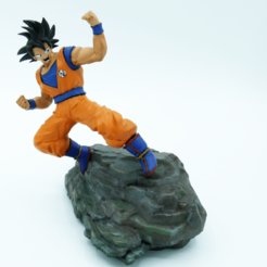 Download free 3D model Goku, paul3ddesign