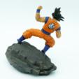 Télécharger STL gratuit Goku, paul3ddesign