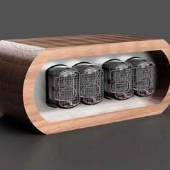 Wemos.jpg Télécharger fichier STL gratuit L'affaire Wemos Nixieclock • Design pour imprimante 3D, Duderstroger