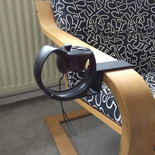 2020-09-09_17.14.01.jpg Télécharger fichier STL gratuit Le mont Oculus Touch pour Ikea Poang • Modèle imprimable en 3D, Duderstroger