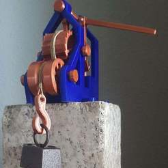 Download free 3D print files Leonardo's Elevator, papapegulin