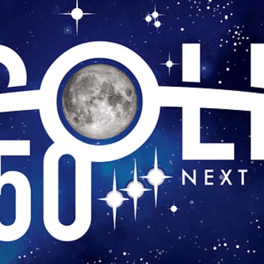 Télécharger objet 3D gratuit Logo de l'alunissage du 50e anniversaire d'Apollo, aviationbuff52