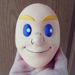 mirio_face.jpg Télécharger fichier STL gratuit Portrait du visage de Mirio Togata - Académie Boku no hero • Objet à imprimer en 3D, HIKO3D