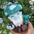Download free 3D printer designs Wise Mushroom BigGrinder, HIKO3D