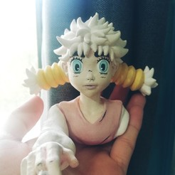 Download free 3D printer model Komugi - Hunter x Hunter - 3D FanArt -, HIKO3D