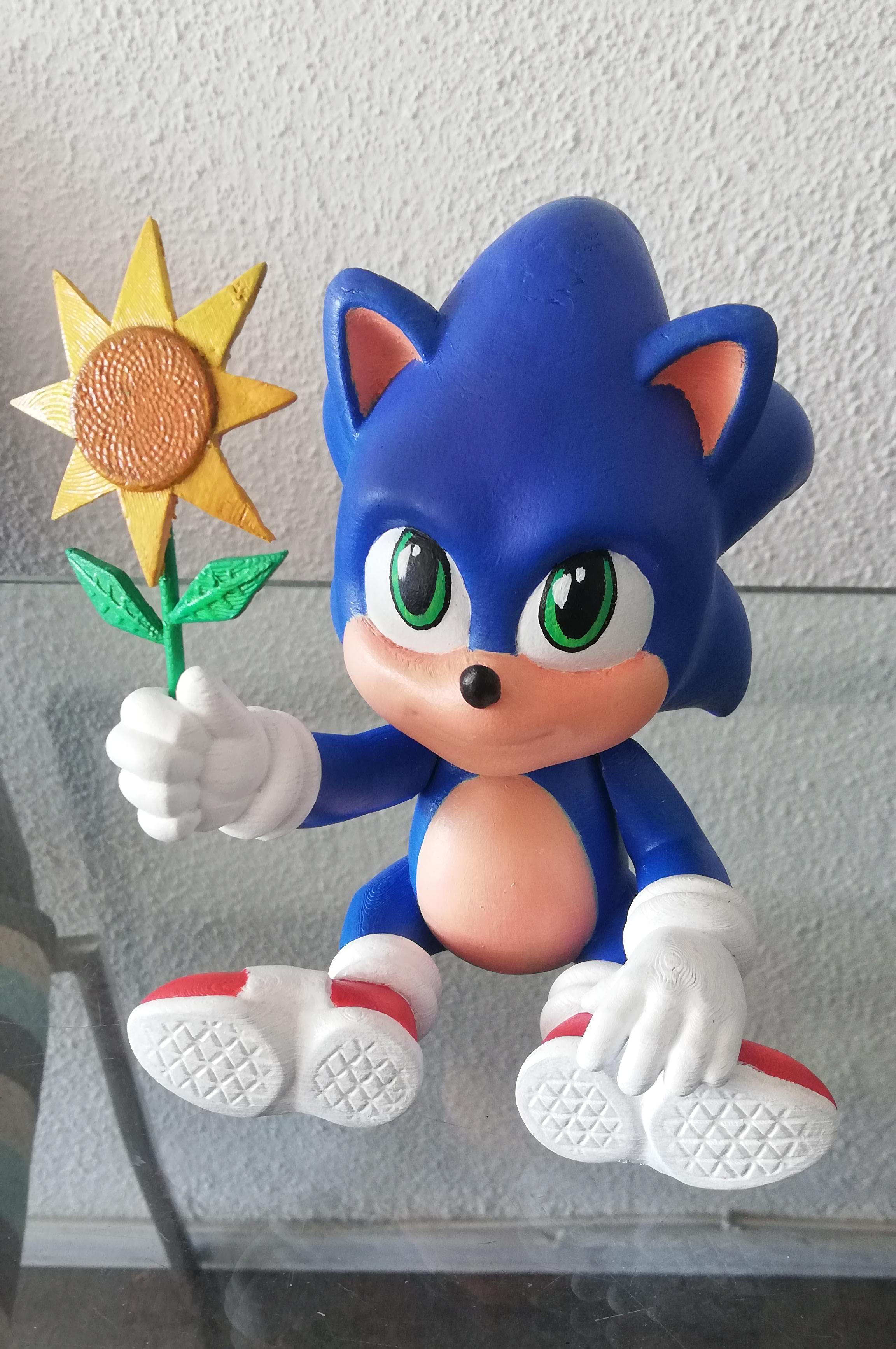 Download 3d Printing Models Baby Sonic The Hedgehog 3d Fanart Cults