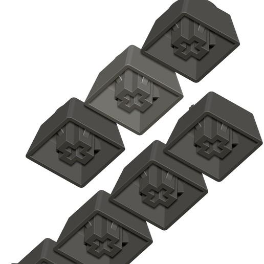 11.jpg Télécharger fichier STL gratuit 7 Capuchons pour clavier mécanique - CS GO Edition • Plan à imprimer en 3D, HIKO3D