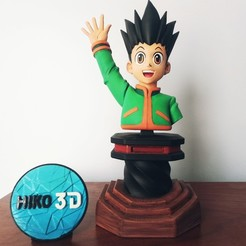 Download STL Gon Freecss - Hunter x Hunter - 3D FanArt -, HIKO3D