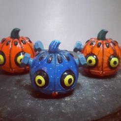 Télécharger fichier 3D gratuit Citrouille - Halloween de la citrouille, HIKO3D