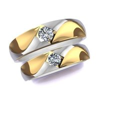 Download free 3D printer designs Wedding Rings, hobachnam