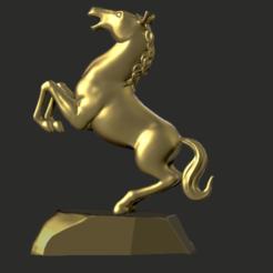 Download 3D printer designs Horse, hobachnam