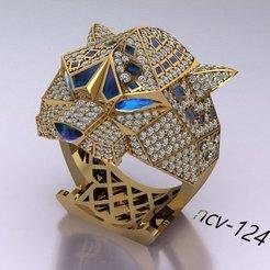 Télécharger modèle 3D anneau tigre, hobachnam