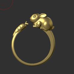 Download 3D print files Rabbit Ring, hobachnam