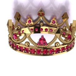 Download free 3D printer designs Crown , hobachnam