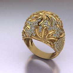 Download 3D printer model Women ring, hobachnam