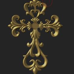 Télécharger objet 3D Croix, hobachnam