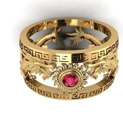 Télécharger objet 3D Un anneau de dragon., hobachnam