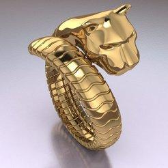 Download 3D printer designs tiger ring, hobachnam