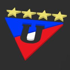 Liga de Quito.PNG Télécharger fichier STL gratuit LA LIGUE SPORTIVE UNIVERSITAIRE DE QUITO • Design pour impression 3D, Lord_Douglas