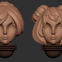 head 16.2.png Télécharger fichier OBJ Série d'animés des têtes alternatives d'Adepta Sororitas Modèle d'impression 3D • Modèle pour impression 3D, Minigames_miniatures
