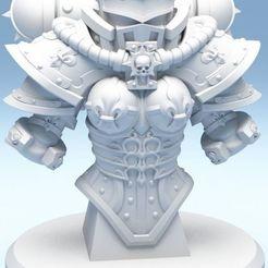 sister-of-silence-3d-printable-bust-3d-model-obj-stl.jpg Download OBJ file Sister of silence bust 3D print model • Design to 3D print, Minigames_miniatures