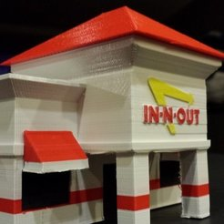 Download free 3D printer files In-N-Out Scale Model, brentwerder