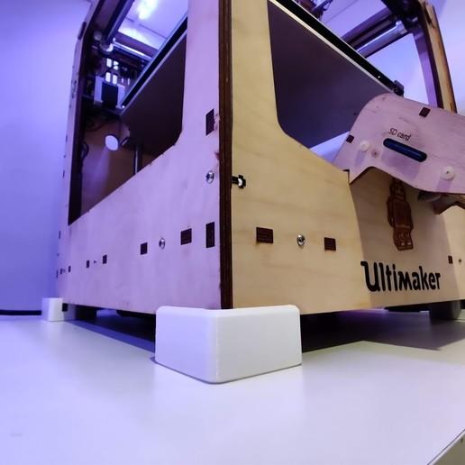Télécharger fichier impression 3D gratuit Ultimaker Original + Entretoises / Pieds, brentwerder