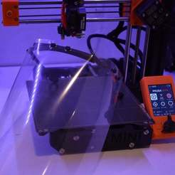 Download free 3D print files Mini Face Shield - 3D Verkstan (US Version), brentwerder