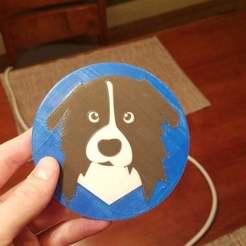 Free 3D printer files Dodge the Australian Shepherd!, brentwerder