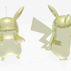 Download 3D printing designs pikachu, stan_x