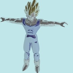 Download 3D printer model Dragon ball Vegeta, stan_x