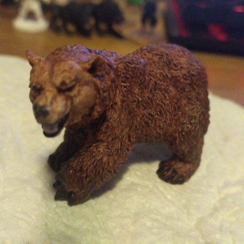Free 3D printer model Bear walking cnc art, geckofuego